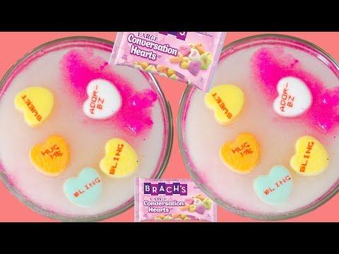 Making Conversation Heart Sugar Scrub DIY! Valentines Day Sugar Scrub DIY