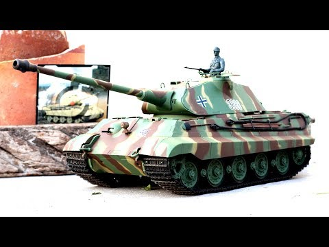 [LXG260] Full Review Heng Long German King Tiger Battle Tank - Powerful Shot and Beautiful Design