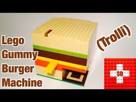 Lego Gummy Burger Machine (Trolli)