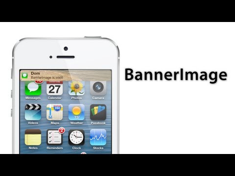 [Cydia Tweak] BannerImage - Custom Background For Notification Banners