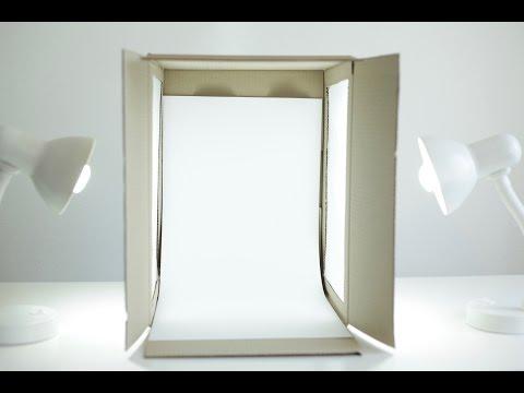 Comment fabriquer votre mini studio photo?