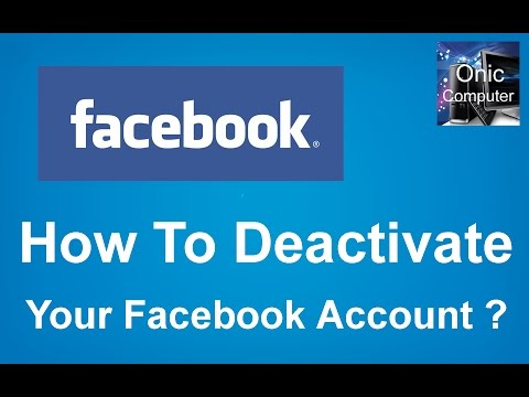 How to Deactivate your Facebook Account  2017 II Learn and Do Step by Step in Nepali