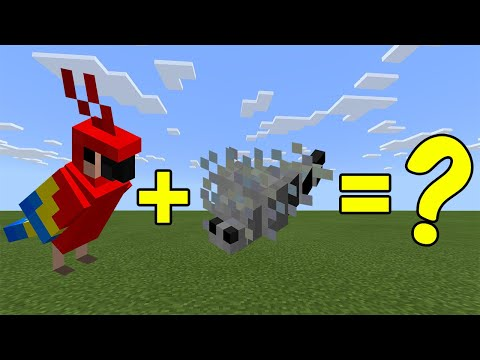 I Combined A Parrot And A Silverfish In Minecraft Heres What