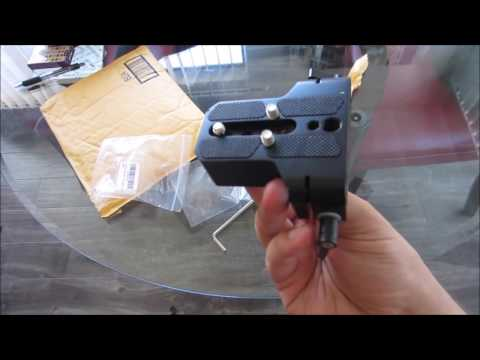 Review FOTYRIG Low Profile Camera Base Plate with 15mm Rod Rail Clamp