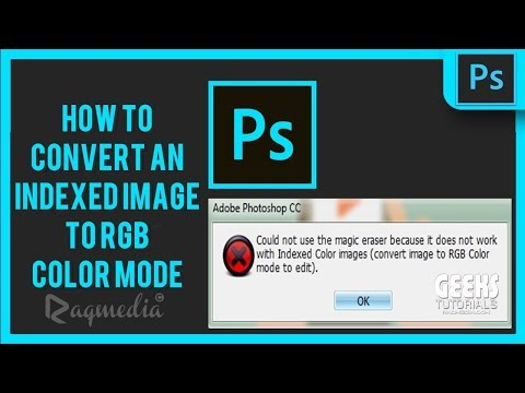How To convert An Indexed Image to RGB Color Mode in Photoshop