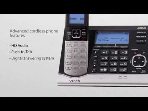 VTech VC7151-109 Cordless Phone with Sensors