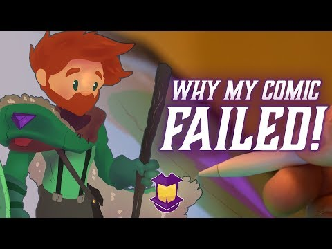 Why My Comic Failed! // Forge a Character Design: Denizen
