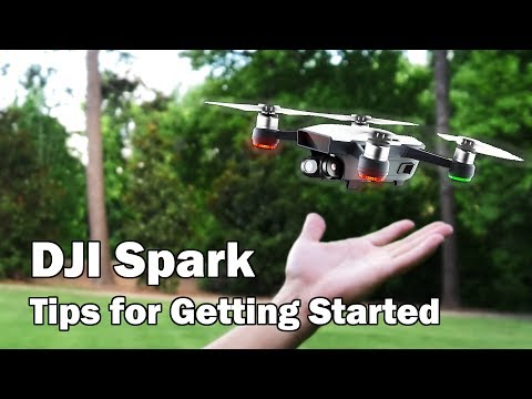 Getting Started with the DJI Spark