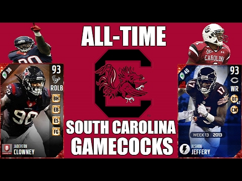 All-Time South Carolina Gamecocks Team - Jadeveon Clowney and Alshon Jeffery! - MUT 17