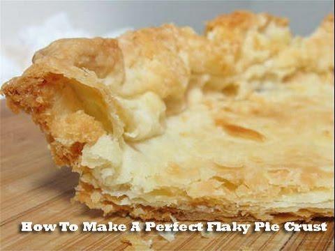 Perfect Flaky Pie Crust Dough Recipe