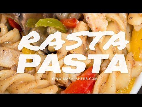 Easy Rasta Pasta Recipe - Jerk Chicken Pasta