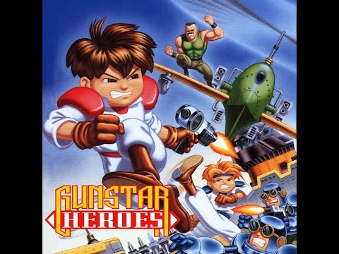 Gunstar Heroes Part 1 Pinkish Green