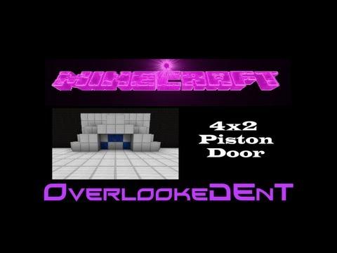 4x2 Piston Door - Minecraft Xbox 360/PS3 - [Tutorial]
