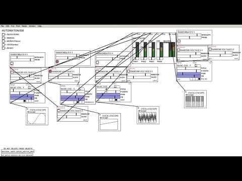 Basic OSC Exploration in Puredata (with Automatonism)