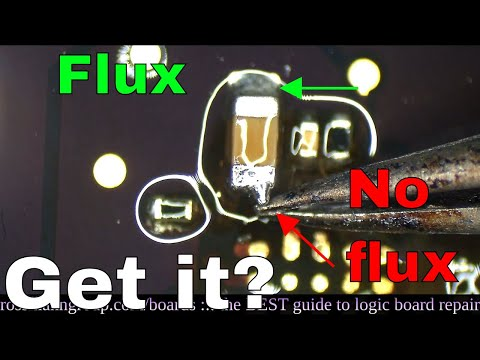 HOW FLUX WORKS: What is that GOOEY liquid Louis pours on the boards?