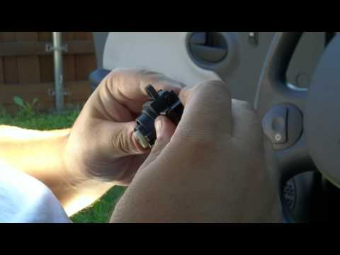 Saturn Ion ignition switch replace part 4