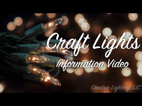 Craft Lights Information from Craft Christmas Lights.com