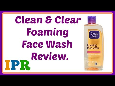 Clean and Clear Foaming Face wash Review (india) | Indian Product Reviewer