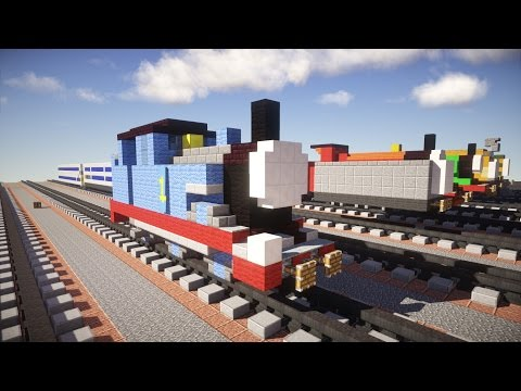 Thomas the Tank Engine Minecraft Tutorial