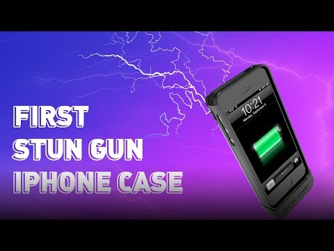 CES 2014: The World's First Stun Gun iPhone Case