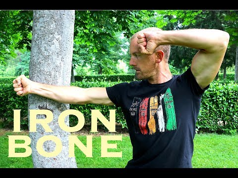 Turn Your ARMS & HANDS into IRON Using a TREE | REAL IRON BONE