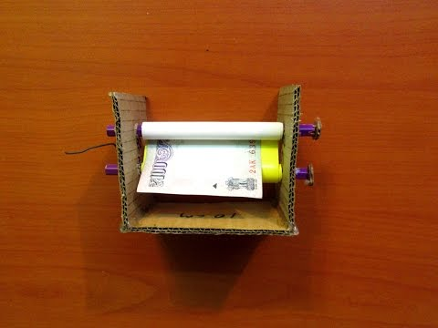 How to Make a Money Printing Machine (Home Made) - Easy Tutorials