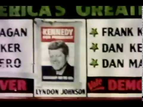 JFK in Waterbury CT Sun Nov 6, 1960, 3am (rare amateur footage)