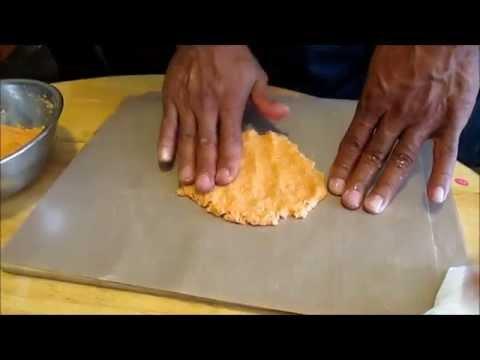 Making brown rice and sweet potato tortilla (vegan) to reverse Diabetes