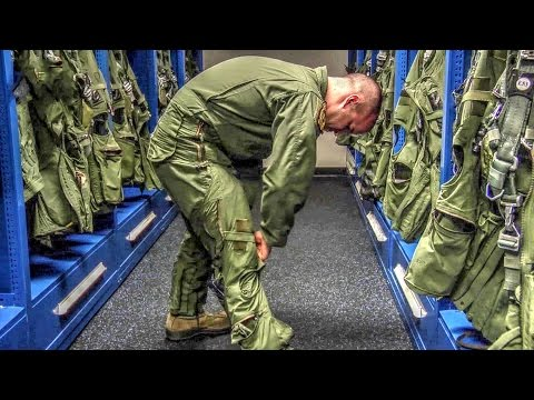 Day In The Life Of F-15 Fighter Jet Pilots