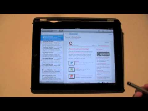 iPad: How to Flag an Email​​​ | H2TechVideos​​​