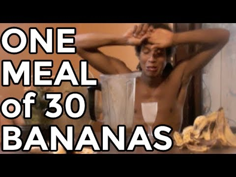 That Time I Ate 30 Bananas... For 1 Meal | What I Ate Raw Vegan
