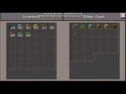 How To Use End Chests in Minecraft PE