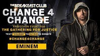 Eminem Donates 150K To #Change4change
