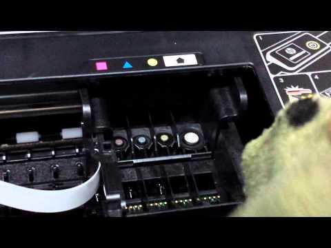Fix HP Ink Printer not printing colors