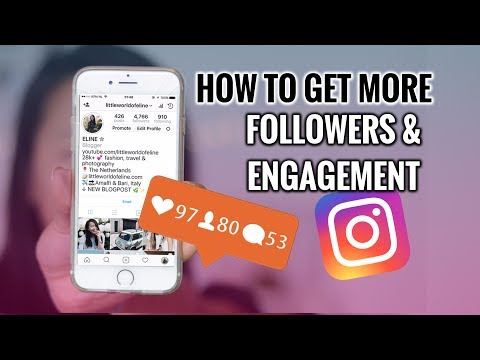 HOW TO GET MORE INSTAGRAM FOLLOWERS + ENGAGEMENT