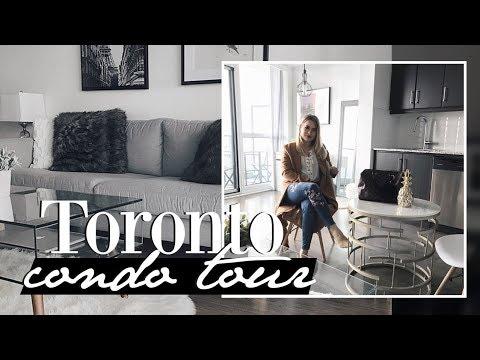 Toronto Condo Tour| What it's like to live downtown Toronto