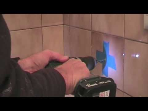 How to Drill a Hole in a Tile - TOO EASY!