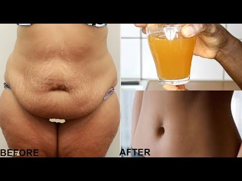 NO-EXERCISE LOSE SAGGING BELLY FAT IN JUST 7 DAYS WITH THIS DRINK