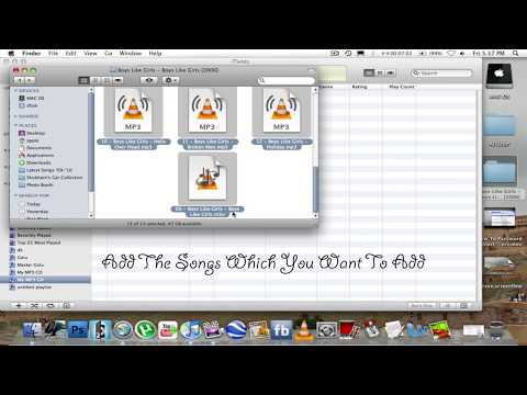 How To Burn/Make MP3 CD's Or DVD's On A Mac (Using iTunes)[HD]