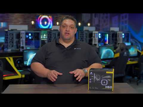 CORSAIR HYDRO SERIES H60 - Liquid Cool your CPU: Cooler, Quieter & More Controlled
