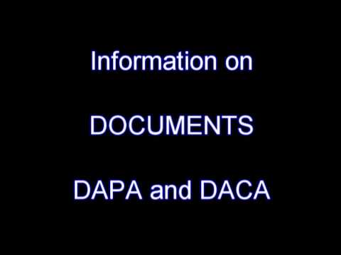 Podcast 4 Information on Documents for Expanded DAPA and DACA