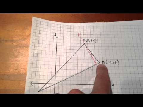 Determine Orthocentre of a Triangle