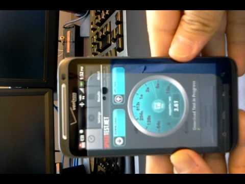 Thunderbolt LTE speed test