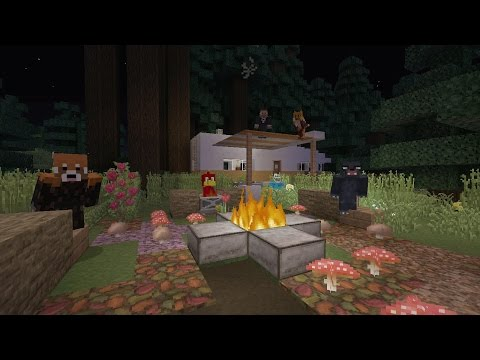 Minecraft Xbox - Murder Mystery - Campsite