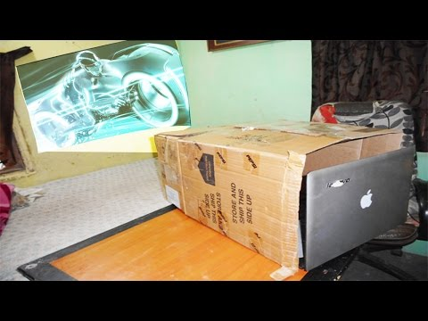 How To Make Laptop Projector At Home
