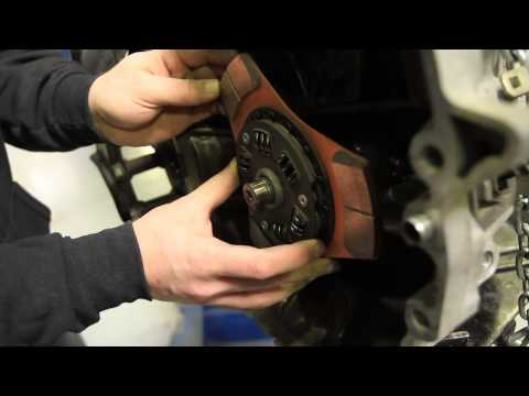 EXEDY Tech - Stage 2 Clutch and Flywheel Install Honda Acura RSX Type S