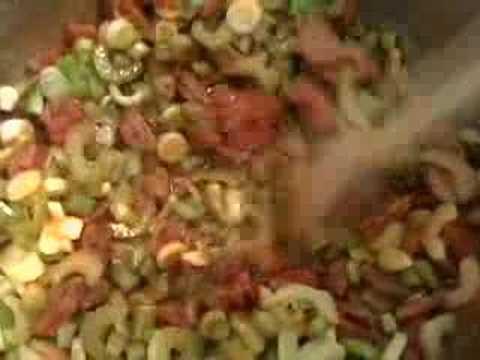 Sausage and Shrimp Jambalaya with Brown Rice