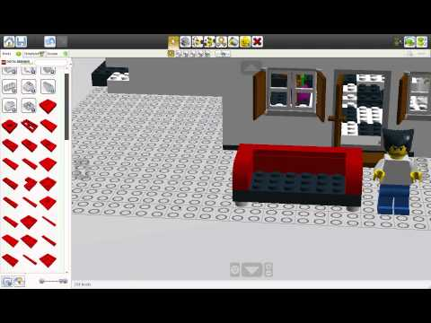 Macplay - Lego Digital Designer Part 4 Wanna Couch?