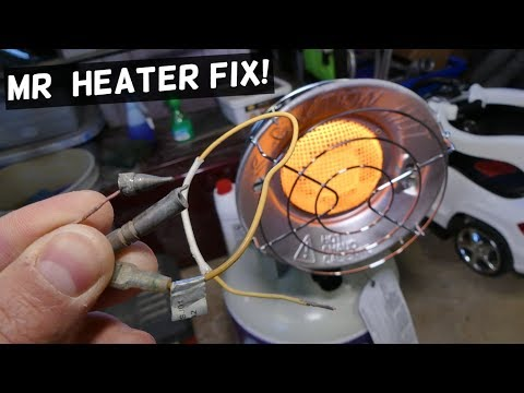 MR HEATER DOES NOT STAY ON THERMOCOUPLE REPLACEMENT