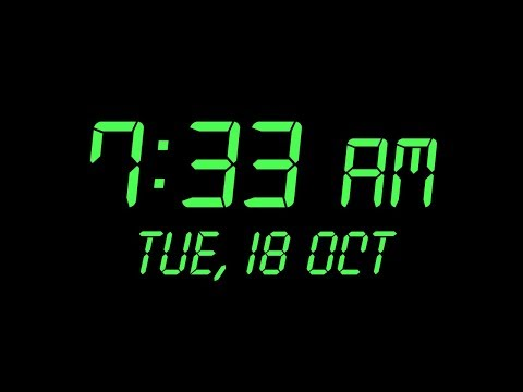 How To Make Digital Clock In Java Netbeans